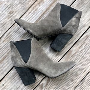 Crown Vintage Magnolia Suede Booties